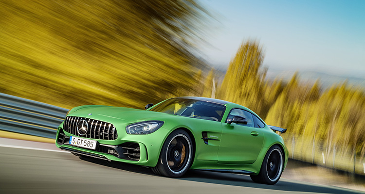 Motor Vision- Best cars of 2016 Mercedes-AMG GT R