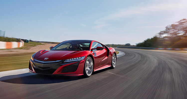 Motor Vision- Best cars of 2016 Honda NSX
