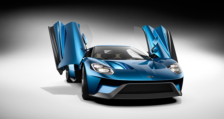 Motor Vision- Best cars of 2016 Ford GT