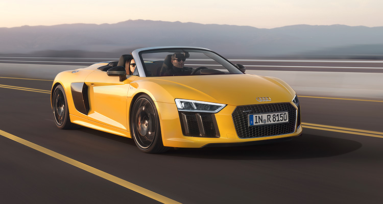 Motor Vision- Best cars of 2016 Audi R8 Spyder