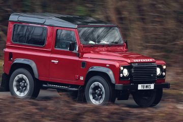 Land Rover Works Defender feature