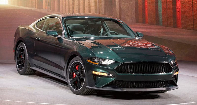 special edition ford mustang bullitt revealed. Black Bedroom Furniture Sets. Home Design Ideas