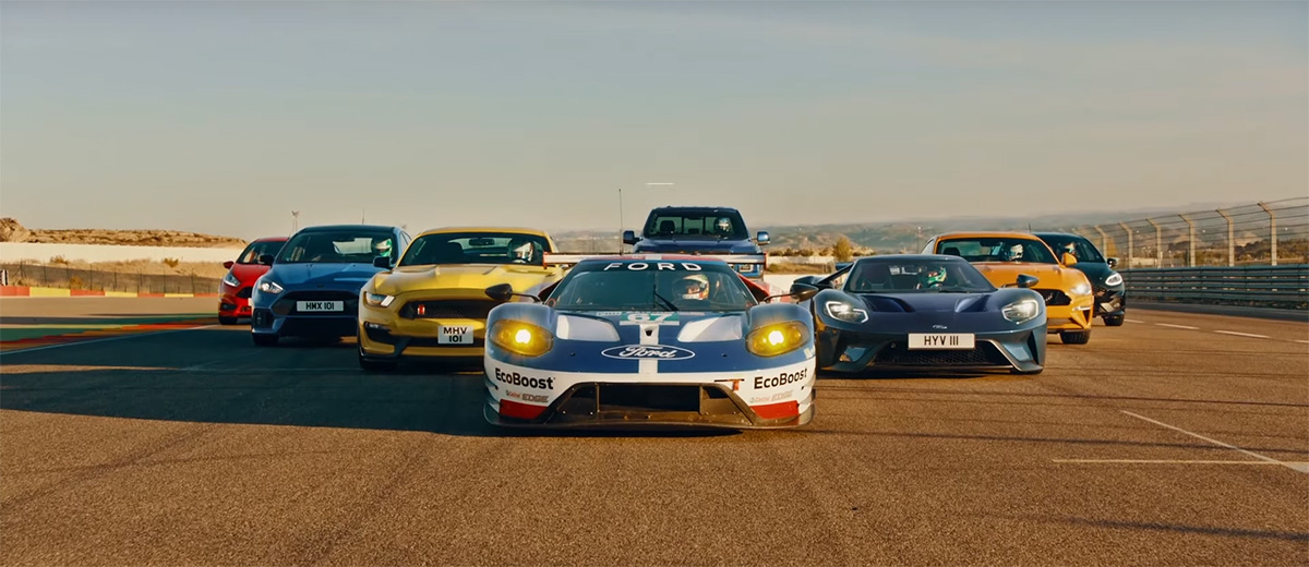 VIDEO) Ultimate Ford Performance Race