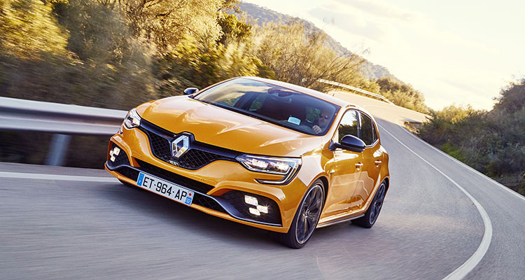 Renault Mégane R.S action