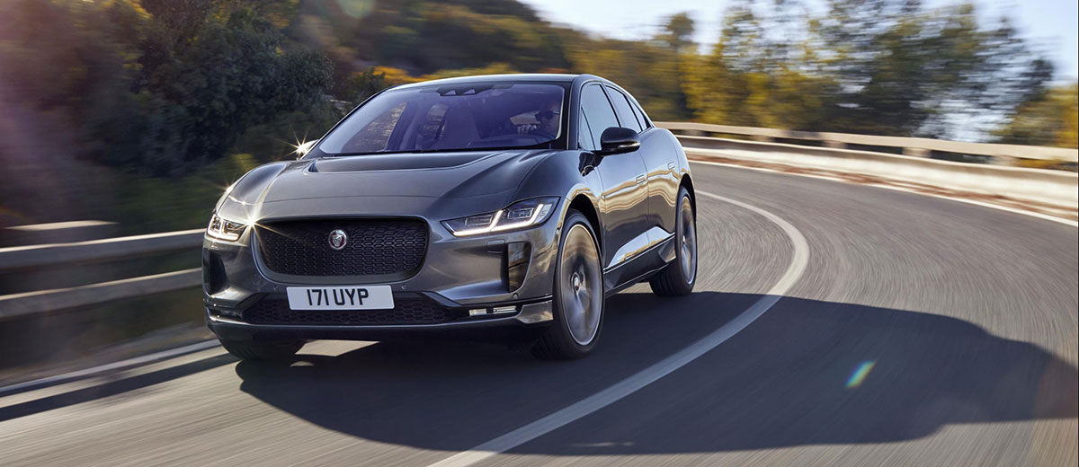 Jaguar IPACE feature