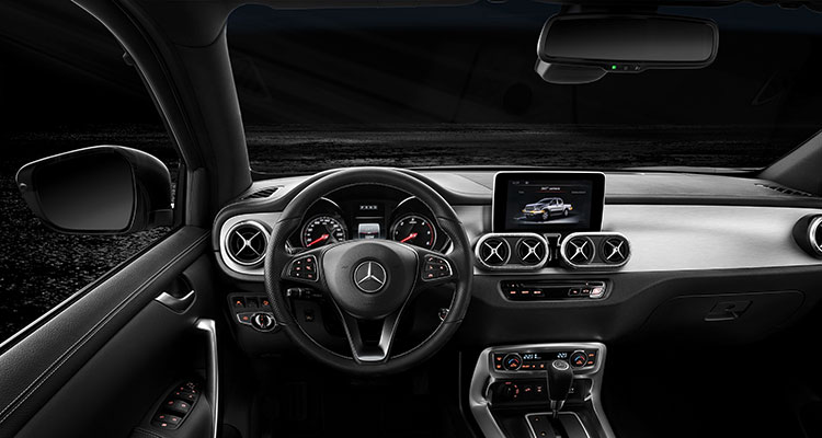 Mercedes-Benz Vans presents the X-Class Interior