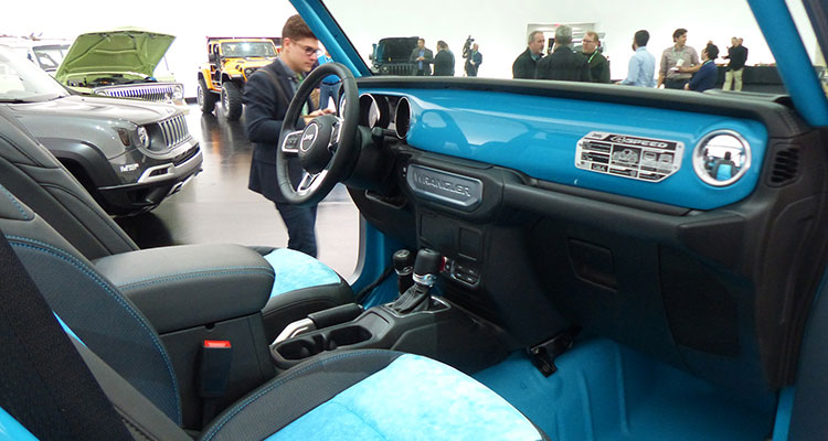 jeep wrangler 4speed concept interior