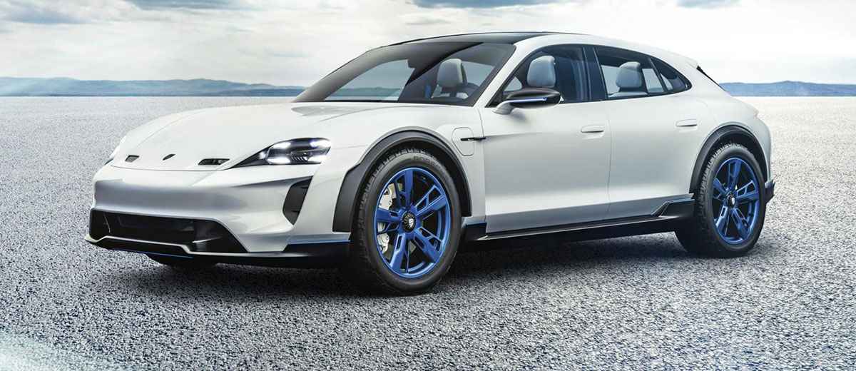 Porsche Mission E and Mission E Cross Turismo CUV Concept
