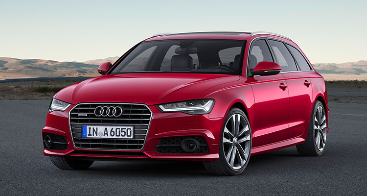 Audi A6 Front Side