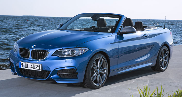 BMW 2 Series convertible front side