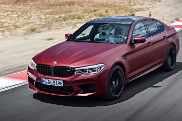 BMW M5 Front feature