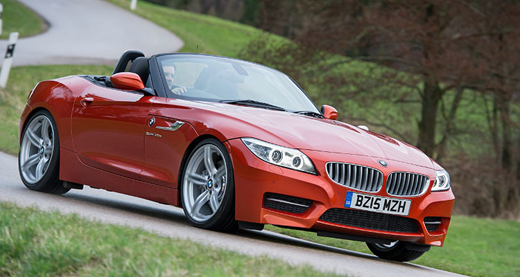 BMW Z4 Convertible Front Side