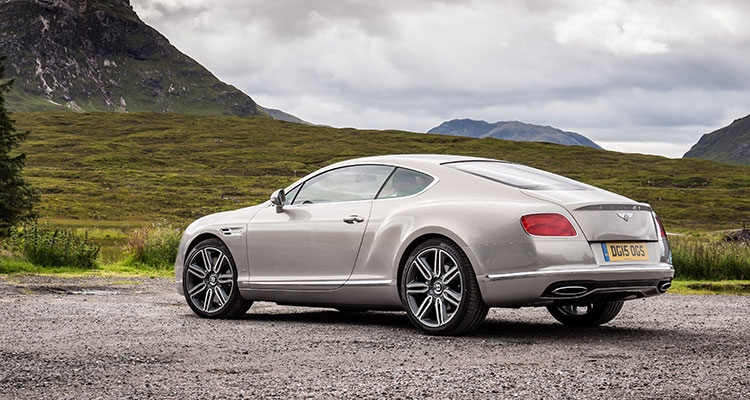 Bentley Continental GT REAR side