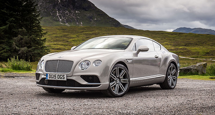 Bentley Continental GT front side