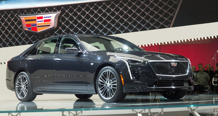 Cadillac CT6 VSport front side