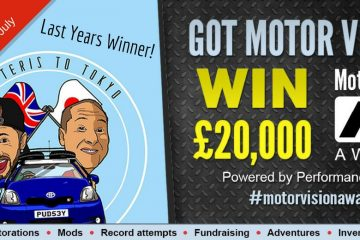 MOTOR-VISION AWARDS ARE NOW OPEN!