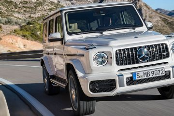 Mercedes G63 Front Feature