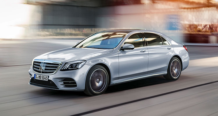 Mercedes S Class front side-2