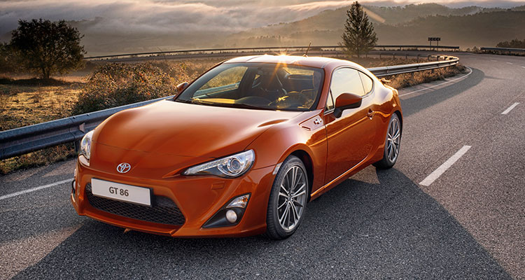 Toyota GT86 Front side 2