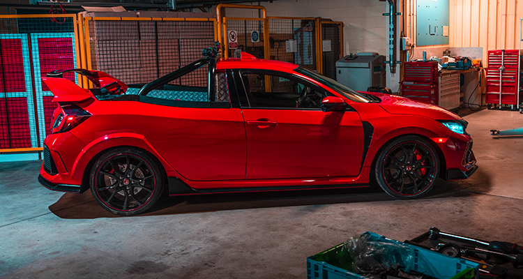 Civic Type R Pickup Truck concept 1