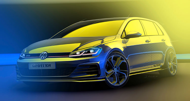 Golf GTI TCR front side