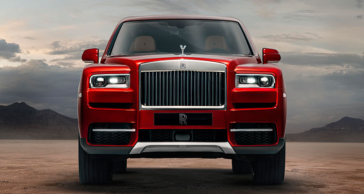 Roll Royce Cullinans front 1