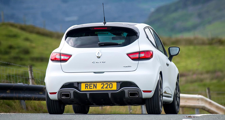 exhaust tips clio rs 6