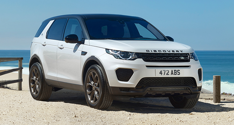 Land Rover Discovery Sport Landmark Edition front side 1