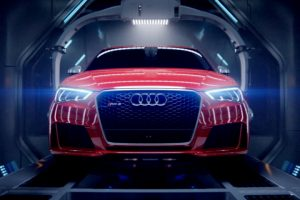 Audi Gives birth