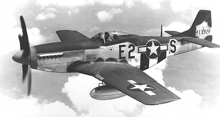 375th fighter squadron p-51d mustang