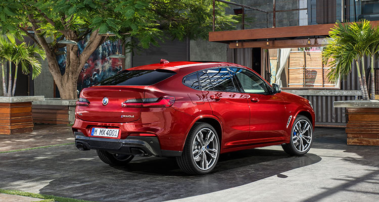BMW X4 front side 3