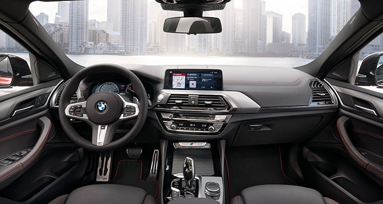 BMW X4 front side 1