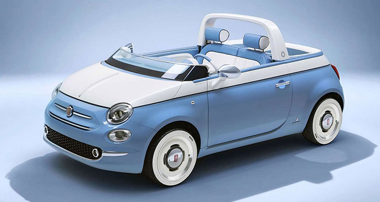fiat 500 beach buggy spiaggina front side