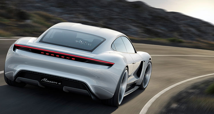 The All New Electric Porsche Taycan 4