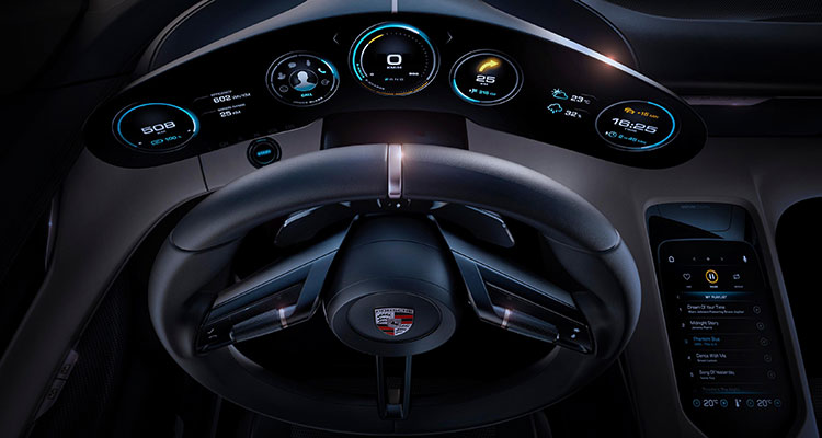 The All New Electric Porsche Taycan 7