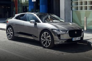 Jaguar I-Pace front side feature