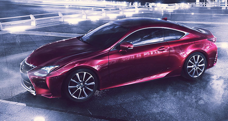 Lexus RC Coupe face lift
