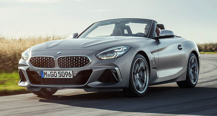 New BMW Z4 2019 front side
