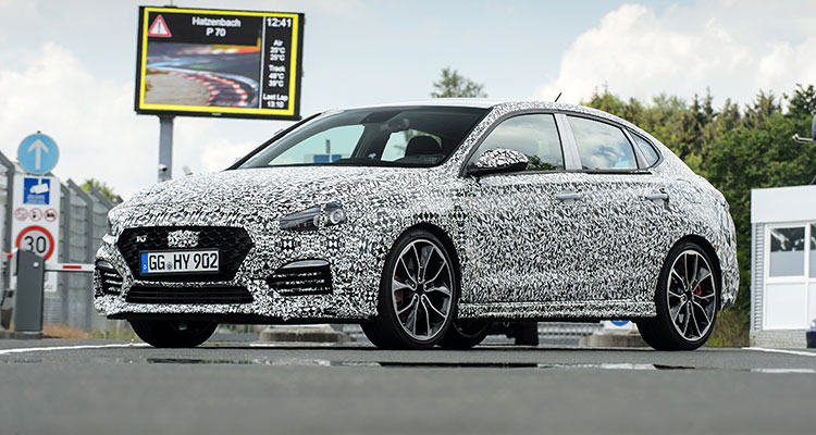 New Hyundai i30 Fastback N 2019 front side