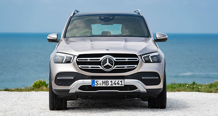 New Mercedes GLE 2019 front 4