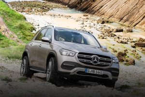 New Mercedes GLE 2019 front feature