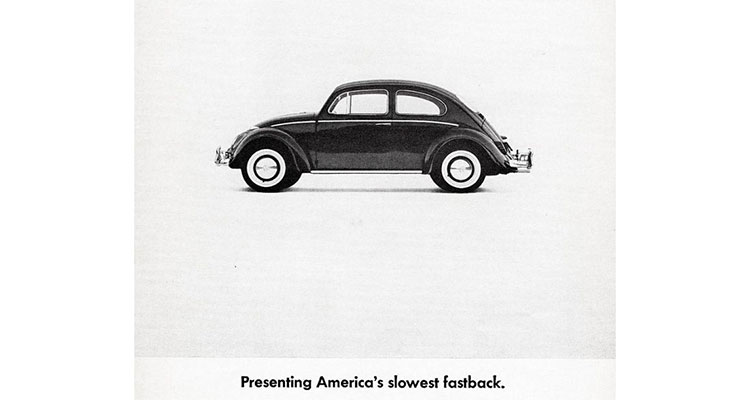 The Crazy VW Ads Of The 60s 4