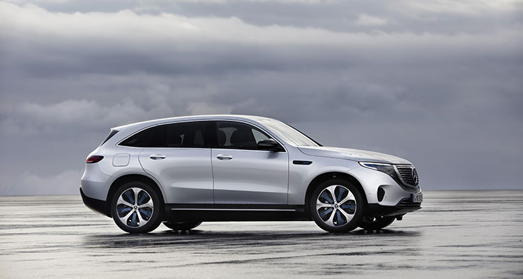Mercedes Benz EQC side view 2
