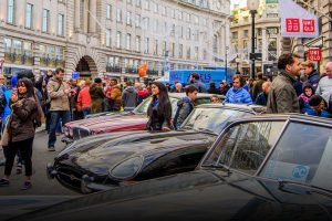 Jaguar to shine on Regent Street feature