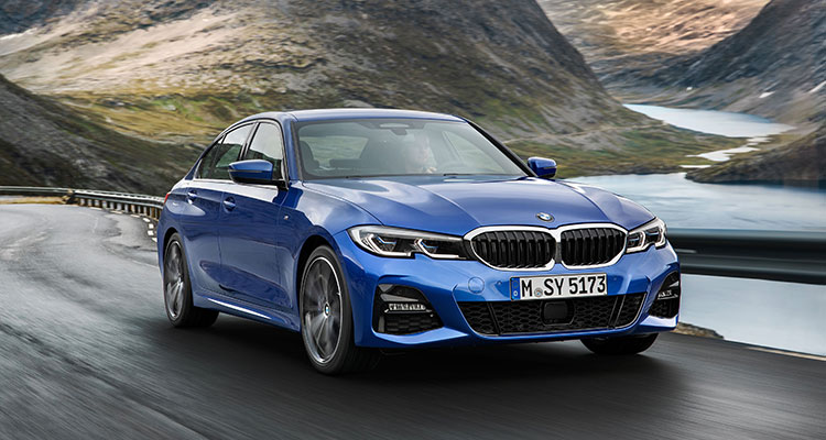 NEW BMW 3 SERIES FRONT 1