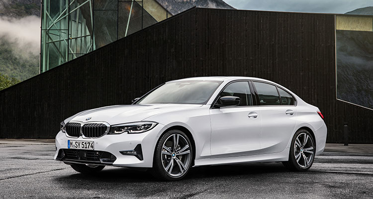 NEW BMW 3 SERIES FRONT SIDE 2