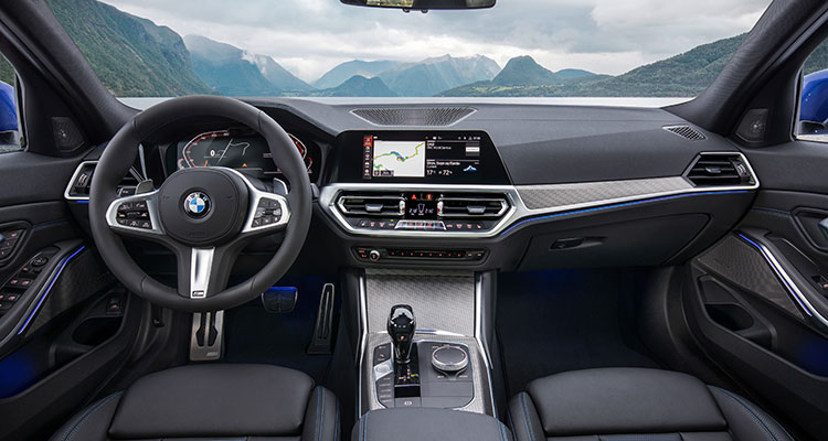 NEW BMW 3 SERIES INTERIOR