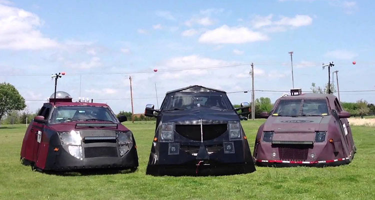 storm chasing dominator srv and dominator 2 and dominator 3 vehicles