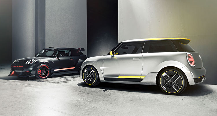 Mini Celebrates 60 Years With The Mini Electric Motor Vision