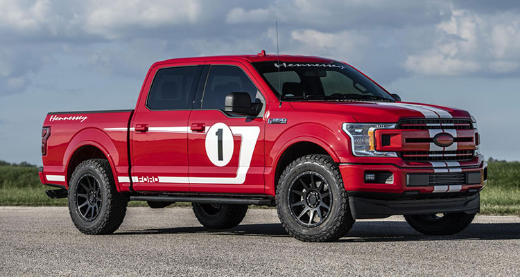 hennessey heritage edition f-150 pickup front side 2